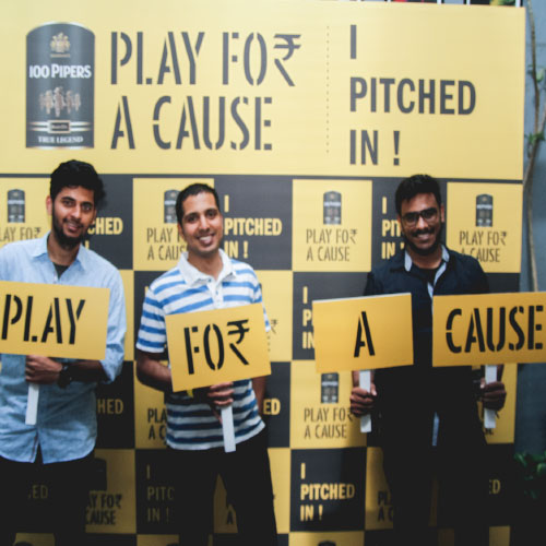 100 Pipers – Play For A Cause